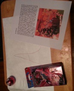Elf on the shelf letter and gift